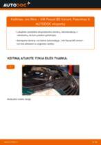 Kaip pakeisti ir sureguliuoti Guolis, rato guolio korpusas VW PASSAT: pdf pamokomis