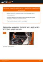 Aflați cum să ajustează Amortizor față AUDI