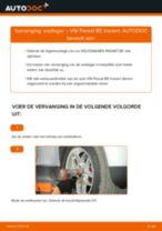 VW Wiellagerset achter en vóór veranderen doe het zelf - online handleiding pdf