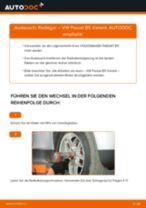 Radlager vorne selber wechseln: VW Passat B5 Variant - Austauschanleitung