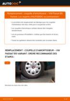Remplacement de Butée de suspension sur VW PASSAT Variant (3B6) : trucs et astuces