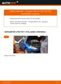 Så byter du Tändstift på 1.6 16V Peugeot 206 cc 2d