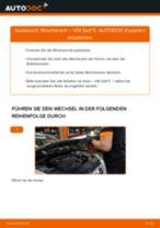 DIY-Leitfaden zum Wechsel von Wischerarm beim VW GOLF