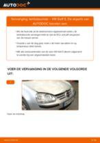 Hoe lambdasonde vervangen bij een VW Golf 5 – Leidraad voor bij het vervangen