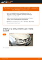 Comment changer : sonde lambda sur VW Golf 5 - Guide de remplacement