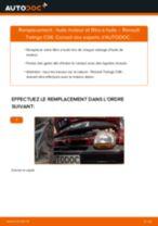 Comment changer : huile moteur et filtre huile sur Renault Twingo C06 - Guide de remplacement