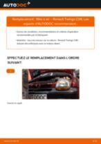 Comment changer : filtre à air sur Renault Twingo C06 - Guide de remplacement
