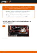 Cambio Filtro de aire motor RENAULT bricolaje - manual pdf en línea