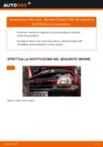 Come cambiare filtro aria su Renault Twingo C06 - Guida alla sostituzione