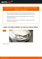 How to change lambda sensor on VW Golf 5 – replacement guide