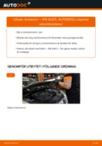 Byta torkararm på VW Golf 5 – utbytesguide