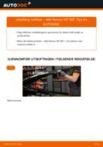 Hvordan bytte og justere Hovedlykter ALFA ROMEO 147: pdf håndbøker