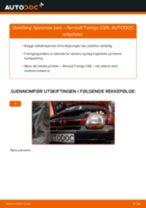 Skifte Fjærbein RENAULT TWINGO: gratis pdf