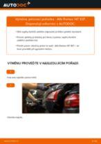 Doporučení od automechaniků k výměně ALFA ROMEO Alfa Romeo 147 937 1.9 JTD Uložení Tlumičů