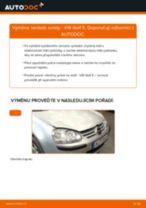 Jak vyměnit lambda sondu na VW Golf 5 – návod k výměně