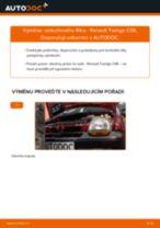 Jak vyměnit vzduchový filtr na Renault Twingo C06 – návod k výměně