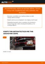 Αλλαγή Καπό RENAULT TWINGO: δωρεάν pdf