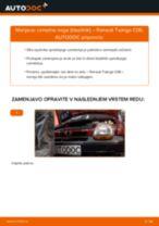 Zamenjavo Blažilnik RENAULT TWINGO: brezplačen pdf