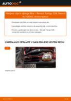 Kako zamenjati avtodel motorna olja in filter na avtu Renault Twingo C06 – vodnik menjave