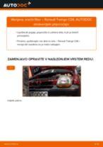 PDF priročnik za zamenjavo: Zracni filter RENAULT TWINGO I (C06_)