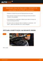 Como mudar braço do limpa-vidros em VW Golf 5 - guia de substituição