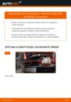 Guia passo-a-passo do reparo do Honda Accord 7 Tourer