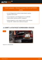 RENAULT TWINGO Gólyaláb cseréje : ingyenes pdf