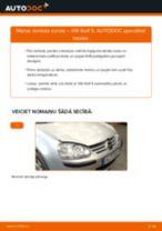 Kā nomainīt: lambda zonde VW Golf 5 - nomaiņas ceļvedis