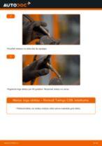 Kā nomainīt Gaisa tvērēja caurule, Gaisa filtrs Volvo v70 bw - instrukcijas tiešsaistes