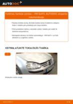 Kada reikia keisti Lambda jutiklis VW GOLF V (1K1): pdf vadovas