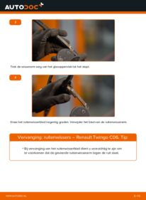 Vervanging uitvoeren: Ruitenwissers RENAULT TWINGO