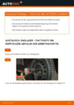 Wie Fiat Punto 188 Radlager vorne wechseln - Anleitung