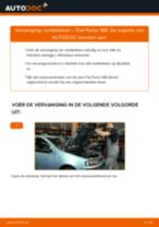 Aanbevelingen van de automonteur voor het vervangen van FIAT Fiat Panda 169 1.1 Remblokken