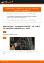 Montage Bouchon de carter d'huile FIAT PUNTO (188) - tutoriel pas à pas