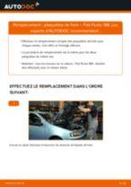 Notre guide PDF gratuit vous aidera à résoudre vos problèmes de FIAT Fiat Punto 188 1.2 16V 80 Mâchoires De Frein