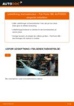 Udskift bremseklodser for - Fiat Punto 188 | Brugeranvisning