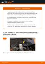 Cambiar Cable De Freno De Mano ALFA ROMEO 147: manual de taller