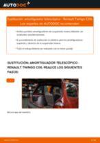 Instalación Kit amortiguadores RENAULT TWINGO I (C06_) - tutorial paso a paso