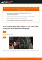 Come cambiare cuscinetto ruota della parte anteriore su Fiat Punto 188 - Guida alla sostituzione