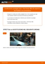 Sostituzione Kit pastiglie freno a disco FIAT PUNTO: pdf gratuito