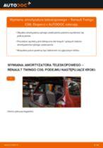 Jak wymienić i wyregulować Amortyzatory RENAULT TWINGO: poradnik pdf