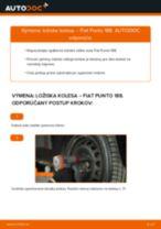 Krok za krokom příručka na opravu FIAT MAREA