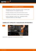 Kako zamenjati avtodel zavorni diski zadaj na avtu Alfa Romeo 147 937 – vodnik menjave