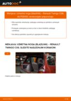 Zamenjavo Blazilnik RENAULT TWINGO: navodila za uporabo