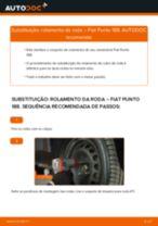 Recomendações do mecânico de automóveis sobre a substituição de FIAT Fiat Punto 188 1.2 16V 80 Braço De Suspensão