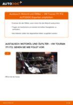 VW TOURAN (1T1, 1T2) Motorölfilter ersetzen - Tipps und Tricks