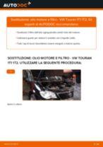 Cambio Filtro olio motore VW da soli - manuale online pdf
