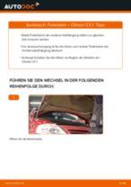Hauptscheinwerfer wechseln CITROËN C3: Werkstatthandbuch