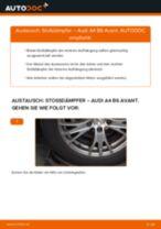 Wie Montagesatz Endschalldämpfer beim VW T4 Kasten wechseln - Handbuch online