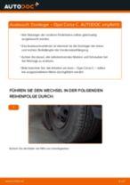 Anleitung: Opel Corsa C Domlager vorne wechseln